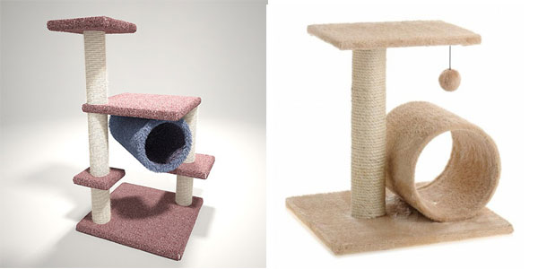 Buying the first cat furniture