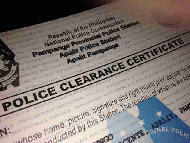 Get Police Clearance from Online Portal