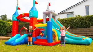 Varieties of kids and toddler's outdoor plays toys