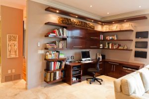 Office shelving by BFX