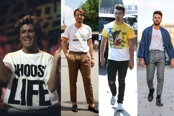 Bring back the fashion trends with the tees from the 80s
