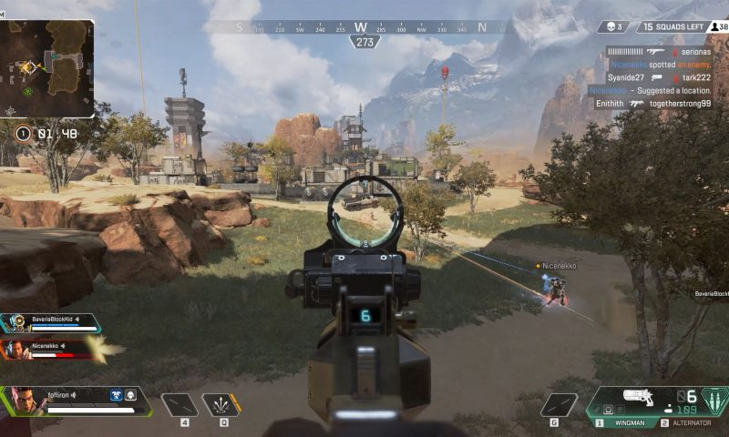 Gaming platform with the Apex legends