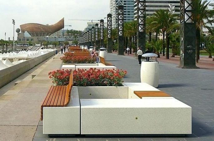 Types Of Street Furniture