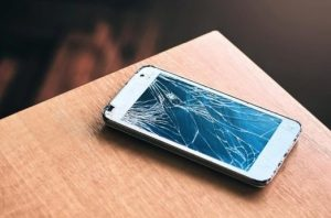 Samsung cracked screen replacement